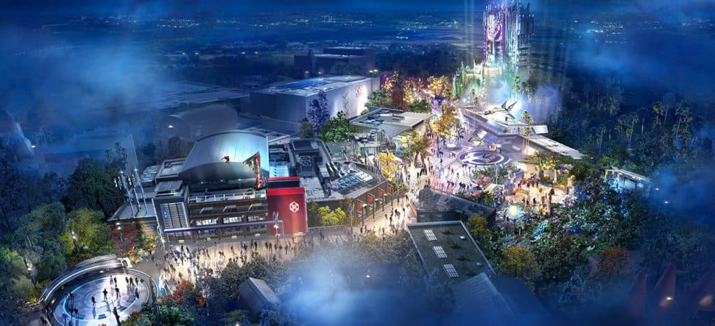 Details Revealed for Avengers Campus at Disneyland Resort! 1