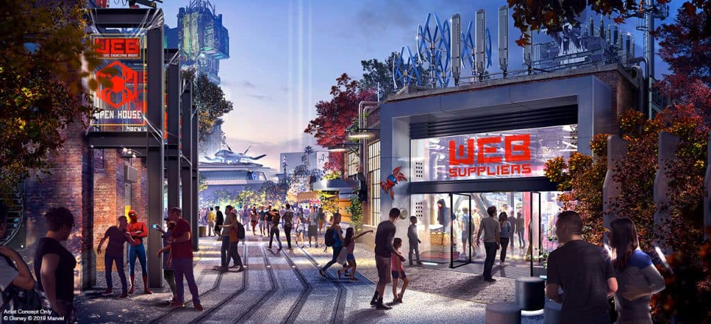 Details Revealed for Avengers Campus at Disneyland Resort! 2