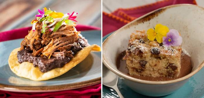 Offerings from the Mexico Marketplace for the 2019 Epcot International Food & Wine Festival