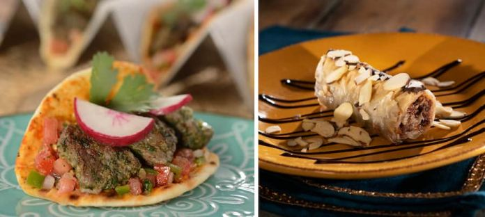 Offerings from the Morocco Marketplace for the 2019 Epcot International Food & Wine Festival