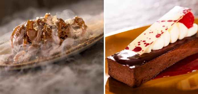 Offerings from the Chocolate Studio Marketplace for the 2019 Epcot International Food & Wine Festival