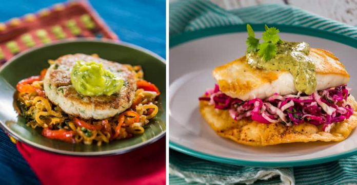 Offerings from the Coastal Marketplace for the 2019 Epcot International Food & Wine Festival
