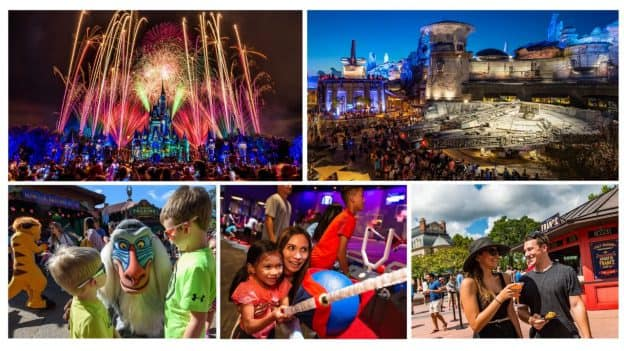 Collage of Fall events at Walt Disney World Resort