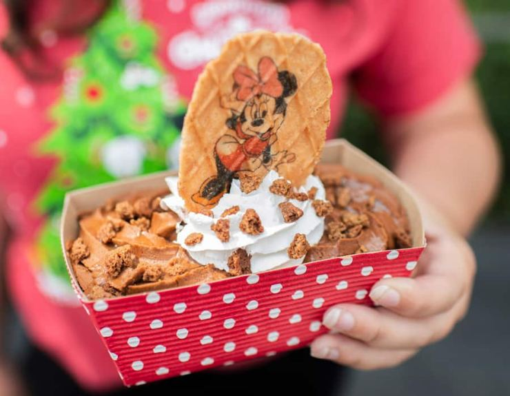 Gingerbread Sundae from Storybook Treats for Mickey's Very Merry Christmas Party at Magic Kingdom Park