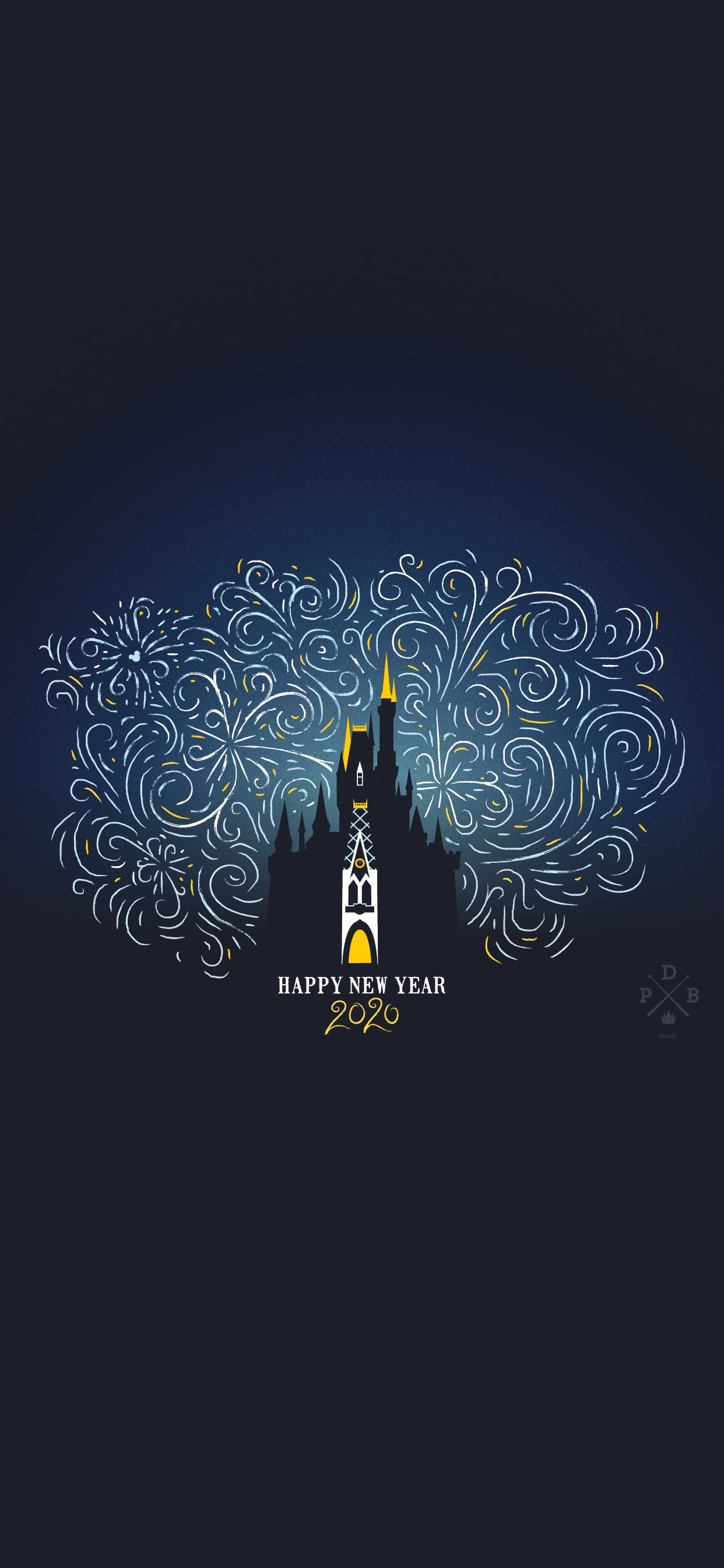 Happy 2020 Wallpaper Iphone Android Disney Parks Blog