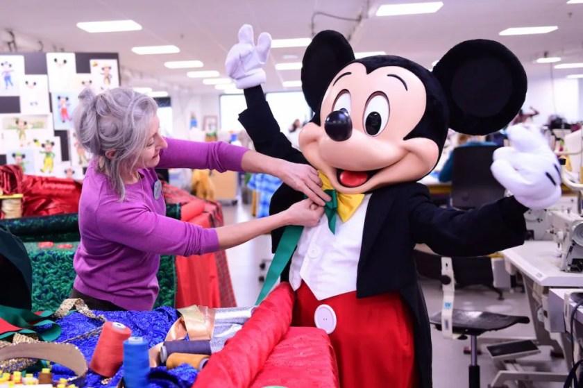 Departamento de disfraces de Disneyland Paris
