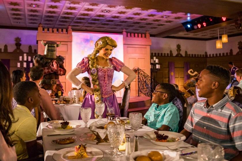 Mesa Real de Rapunzel