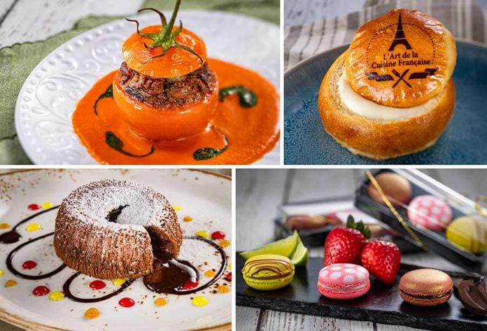 Offerings from L'Art de la Cuisine for the 2020 Epcot International Festival of the Arts