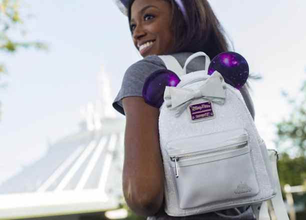 Space Mountain-Inspired Collection from Minnie Mouse: The Main Attraction Mini Backpack