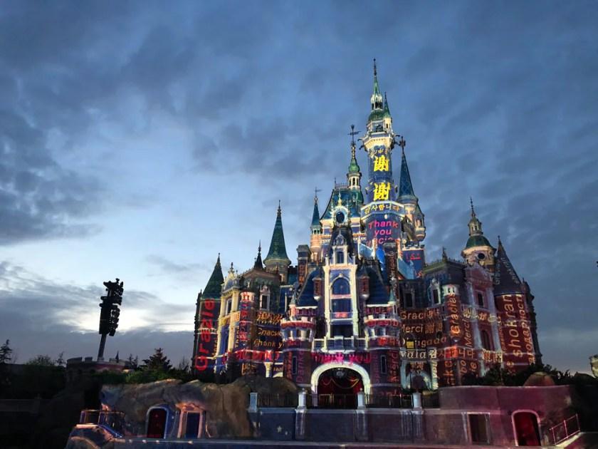Castillo de Shanghai Disney Resort
