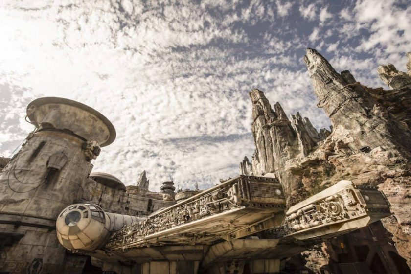 Star Wars: Galaxy's Edge en el parque Disneyland
