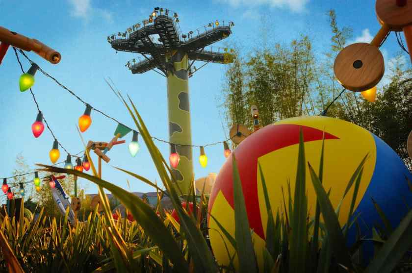 Toy Story Playland, Walt Disney Studios Park, pares de Disneyland