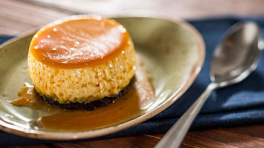 Offerings from Islands of the Caribbean Marketplace for the 2020 Epcot Taste of International Food & Wine Festival - Flancocho: Passion Fruit Cake with Coconut Flan