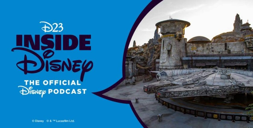 D23 Inside Disney, el podcast oficial de Disney, se sentó con Scott Trowbridge de Walt Disney Imagineering, Creative Portfolio Executive de Star Wars: Galaxy's Edge