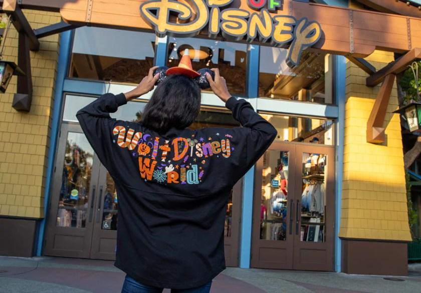 Camiseta de espíritu de Halloween de Walt Disney World