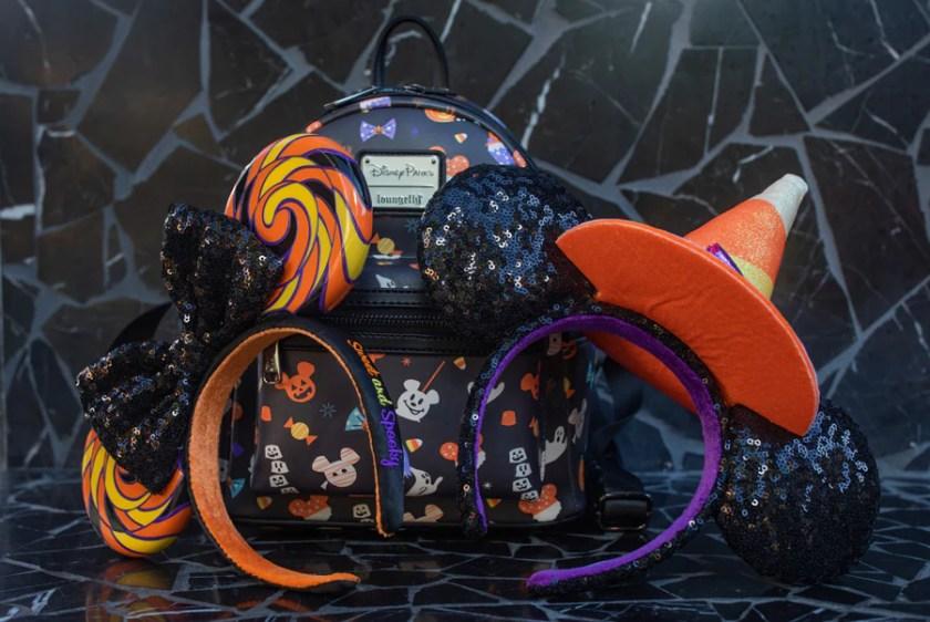 Mochila Loungefly y diademas de Minnie Mouse