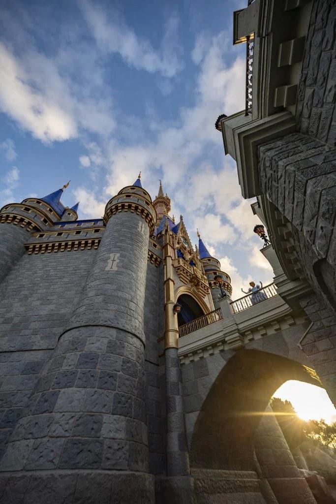 Castillo de Cenicienta en el Parque Temático Magic Kingdom