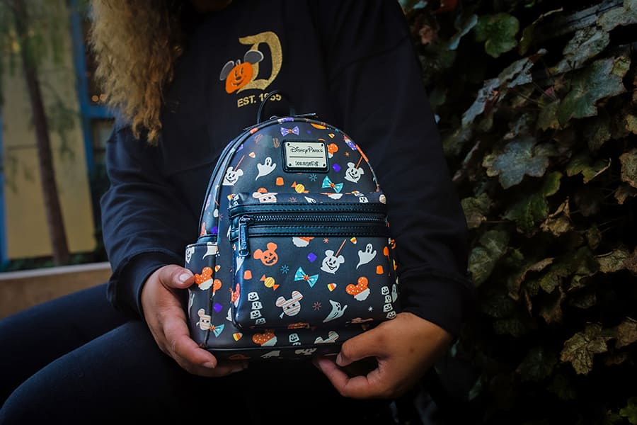 Halloween-themed mini backpack by Loungefly