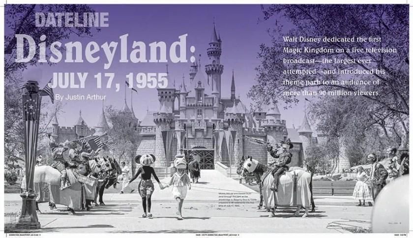 Dateline Disneyland: 17 de julio de 1955