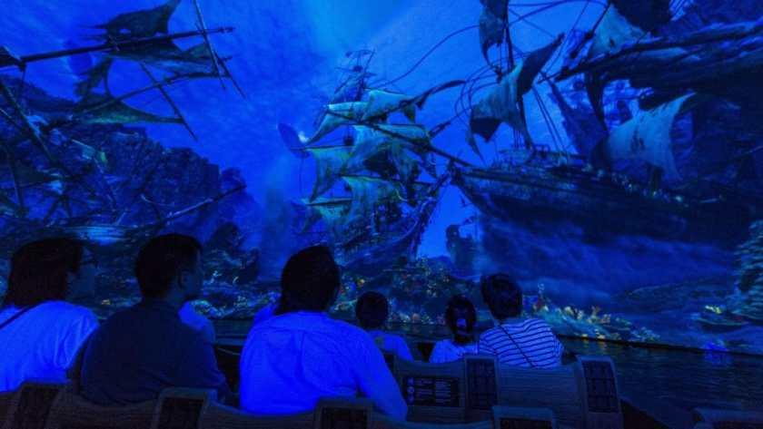 Aventura de Piratas del Caribe en Shanghai Disney Resort