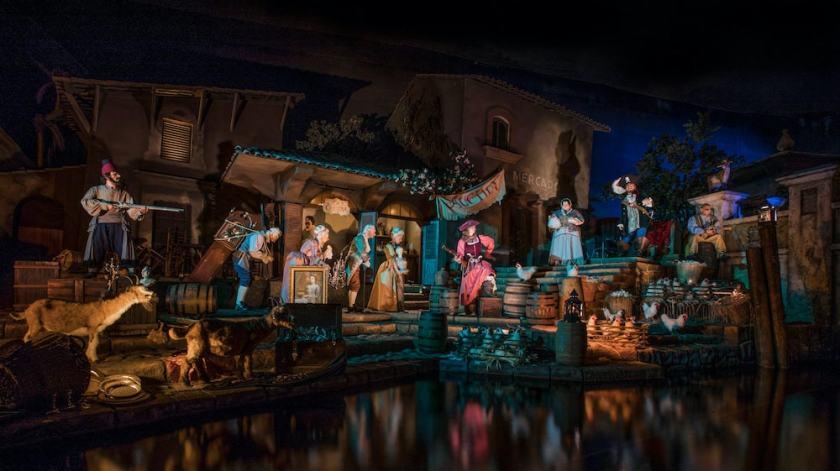 Piratas del Caribe en Disneyland Resort