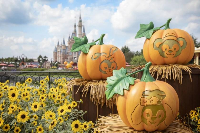 Calabazas en Shanghai Disney Resort