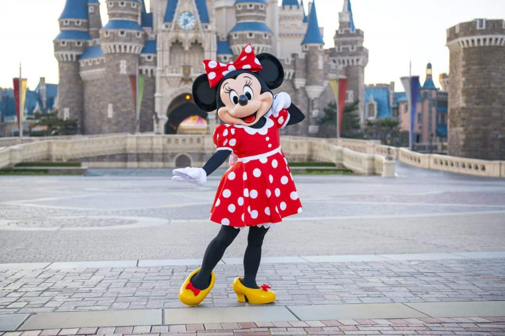 Minnie Mouse at Tokyo Disney Resort