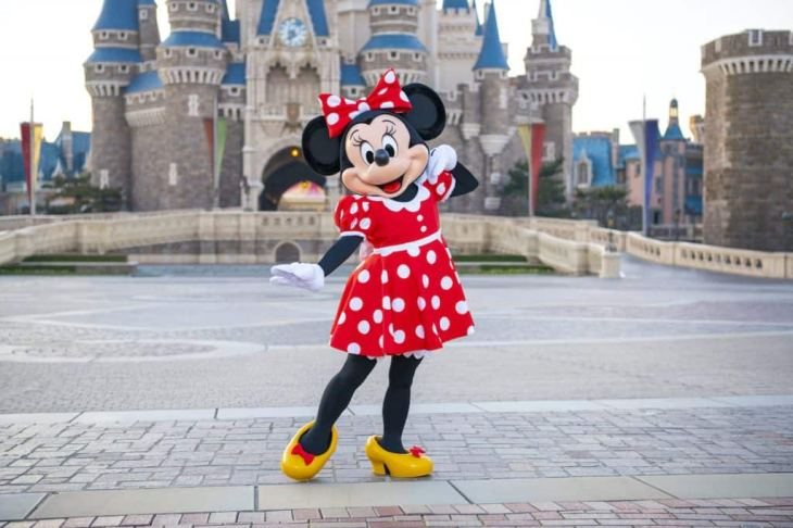Minnie Mouse at Tokyo Disney Resort
