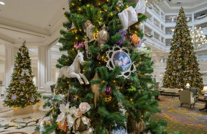 Decoraciones navideñas en Disney's Grand Floridian Resort & Spa