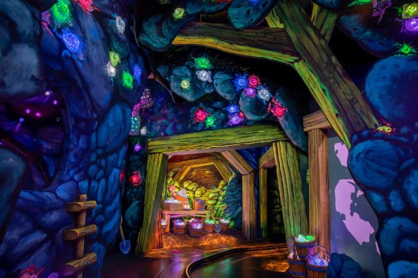 El deseo encantado de Blancanieves en el parque Disneyland