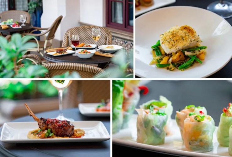 Carthay Circle Lounge – Alfresco Dining items