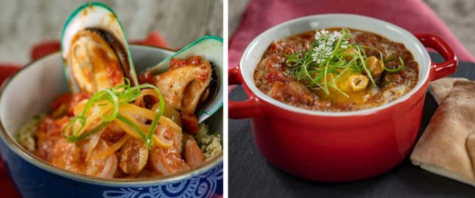 Dishes from Taste of Marrakesh