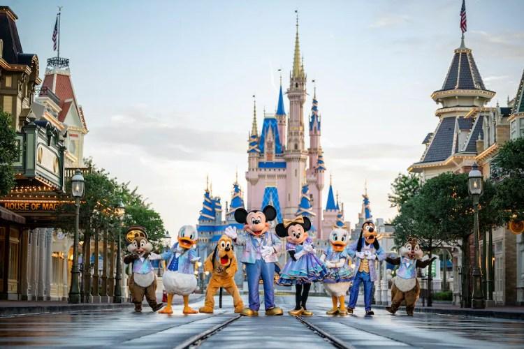 Walt Disney World 50th Anniversary Character Fashions