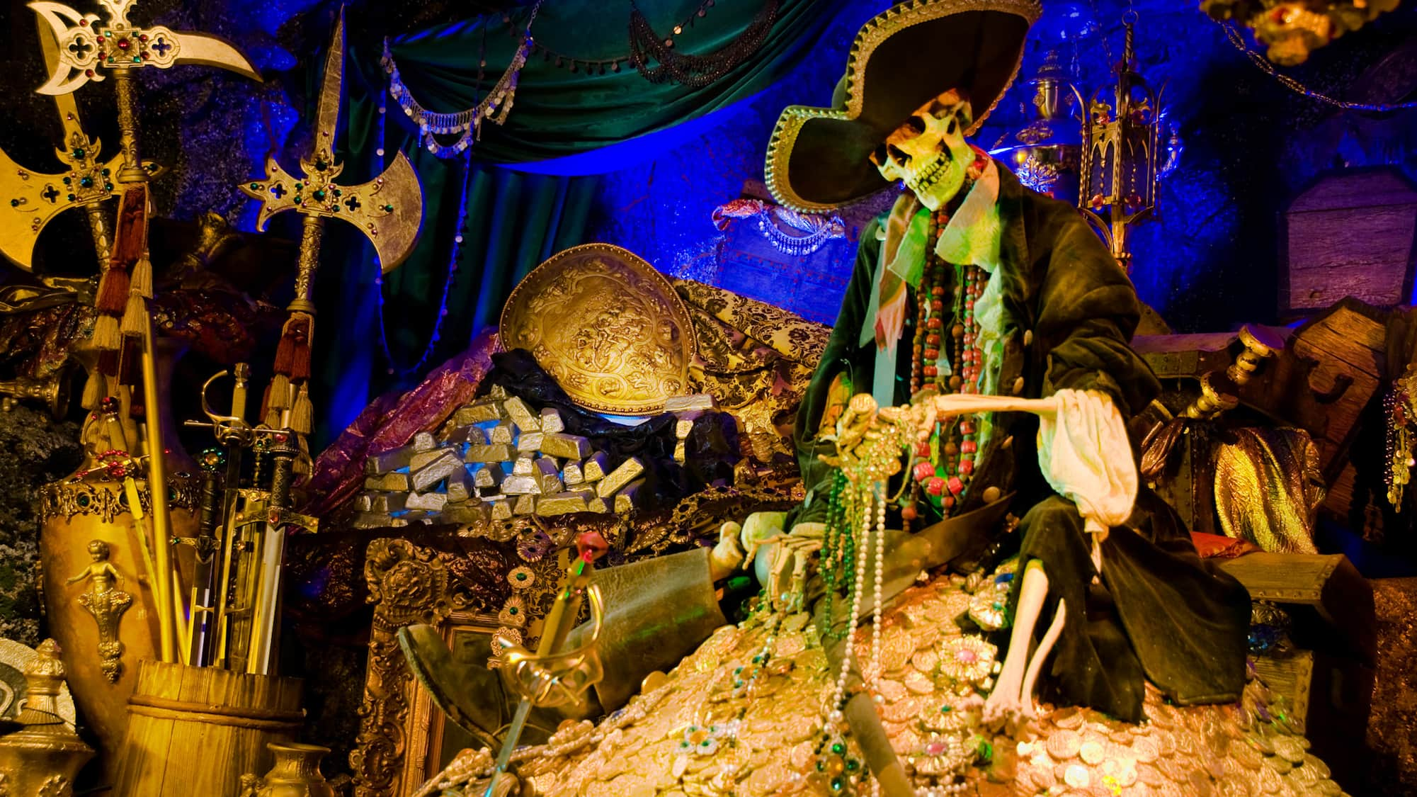The History Of The Pirates Of The Caribbean Ride At