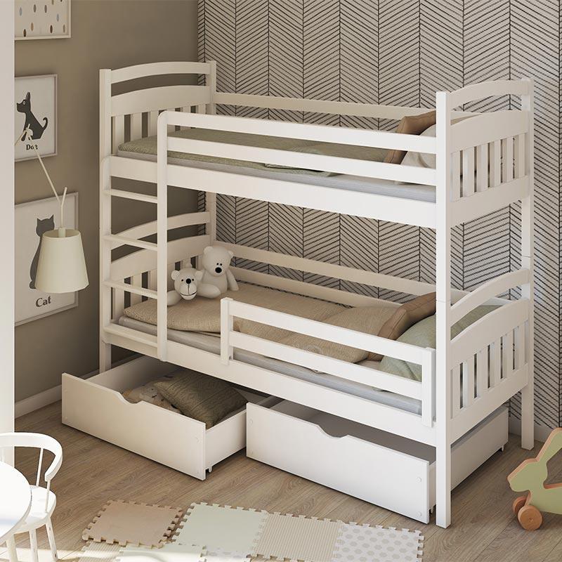 lit superpose gabi pour chambre enfant personnalisable