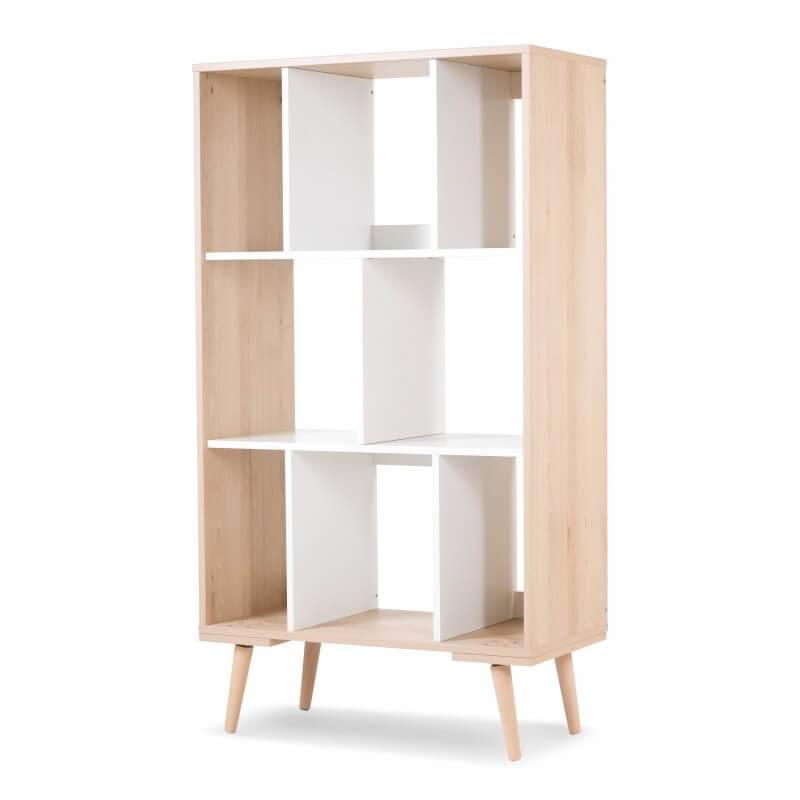 bibliotheque design scandinave pour chambre enfant sofie