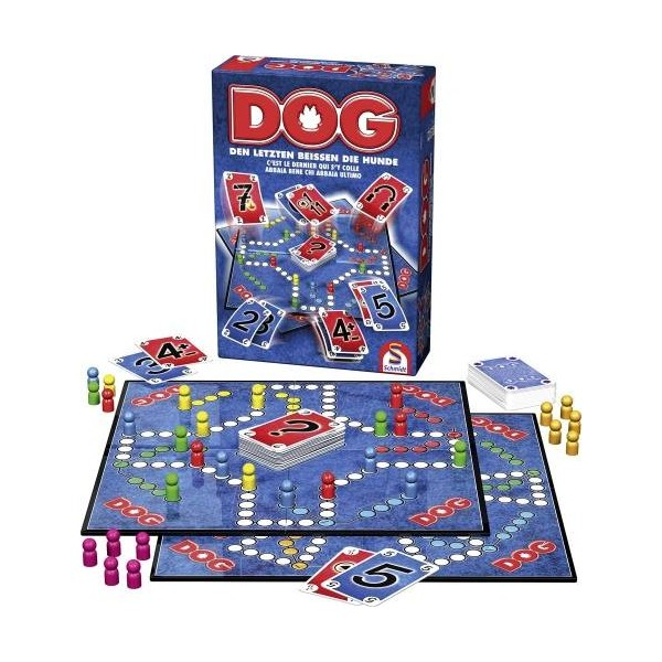 Schmidt And Spiele Jeu De Societe Dog