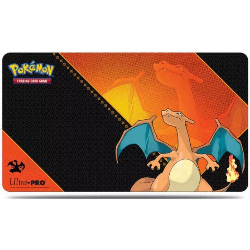 tapis de jeu pokemon dracaufeu