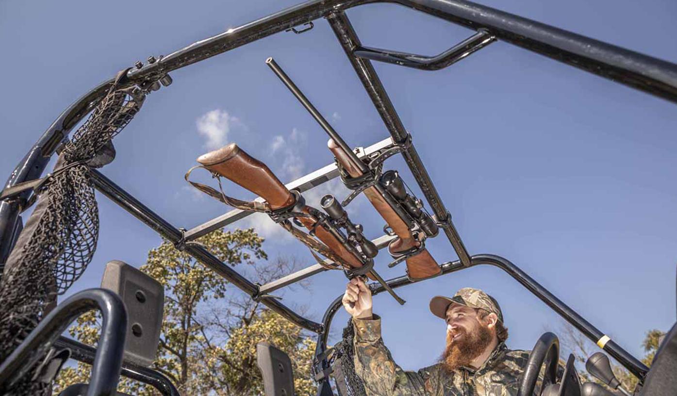 utv gun carriers mounts racks kolpin