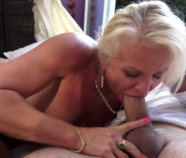A Granny With Blonde Hair Is By The Pool Getting Her Wet Pussy Rammed Pornid Xxx