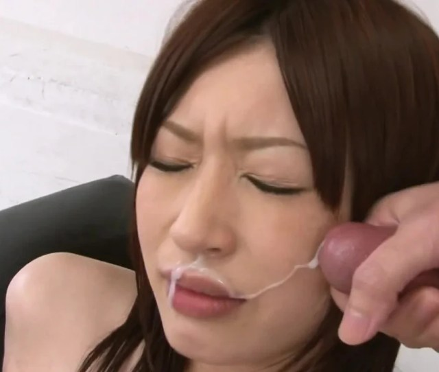 A Hot Asian Lady Is Getting Cum All Over Her Pretty Little Face Pornid Xxx