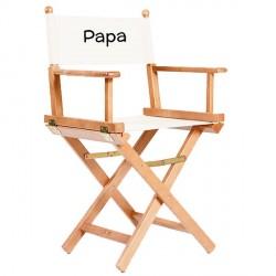 chaise metteur en scene adulte personnalisee naturel ecru