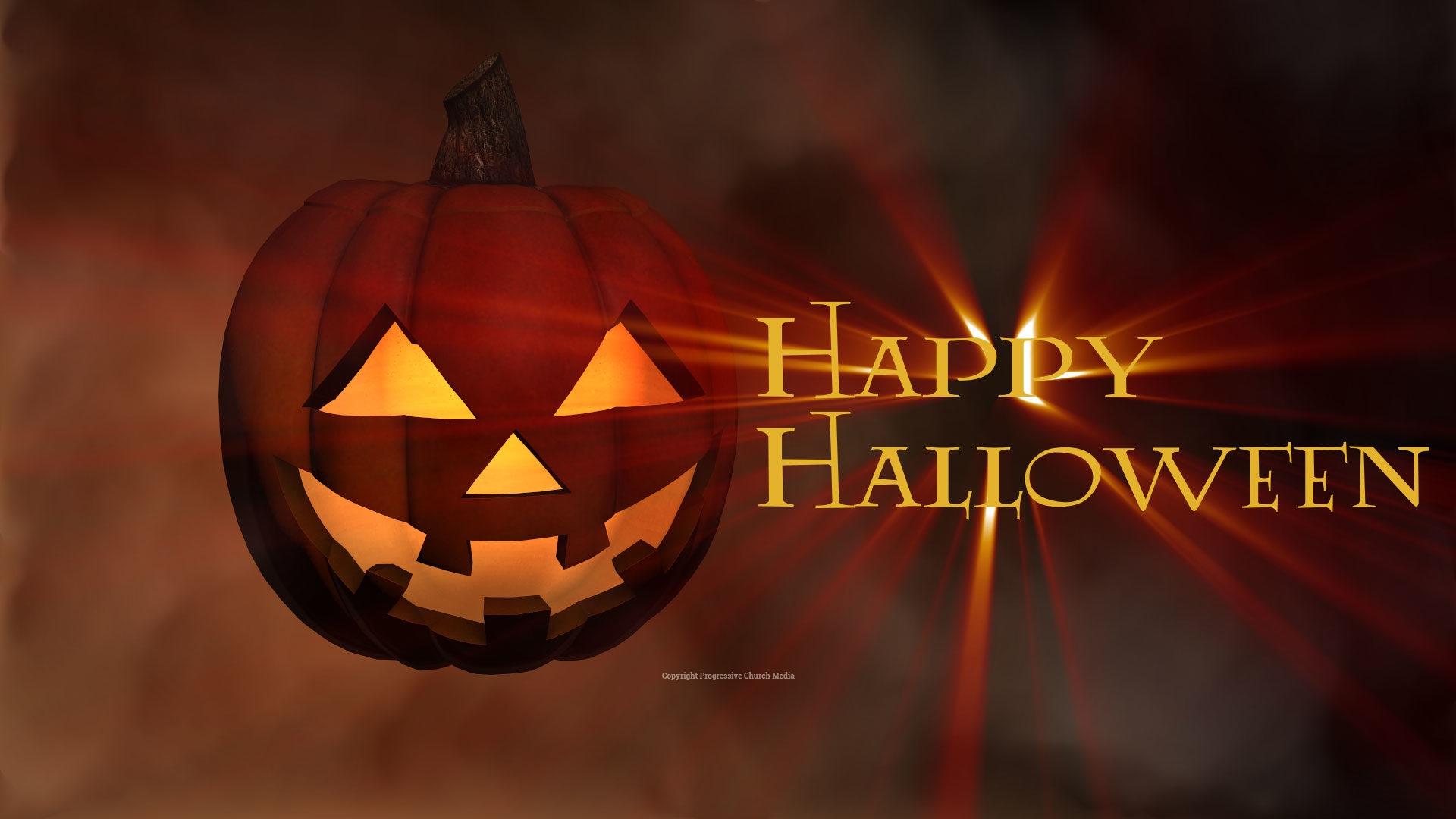 Halloween Pumpkin Video Progressive Church Media