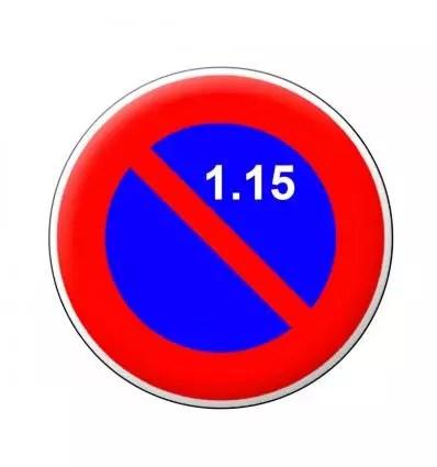 B6a2 Panneau Stationnement Interdit Du 1er Au 15 Du Mois