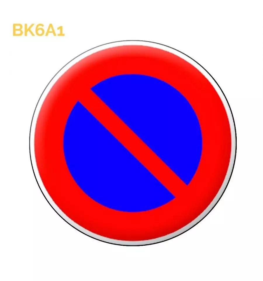 Bk6a1 Panneau Temporaire Stationnement Interdit Des 38 99 Ht