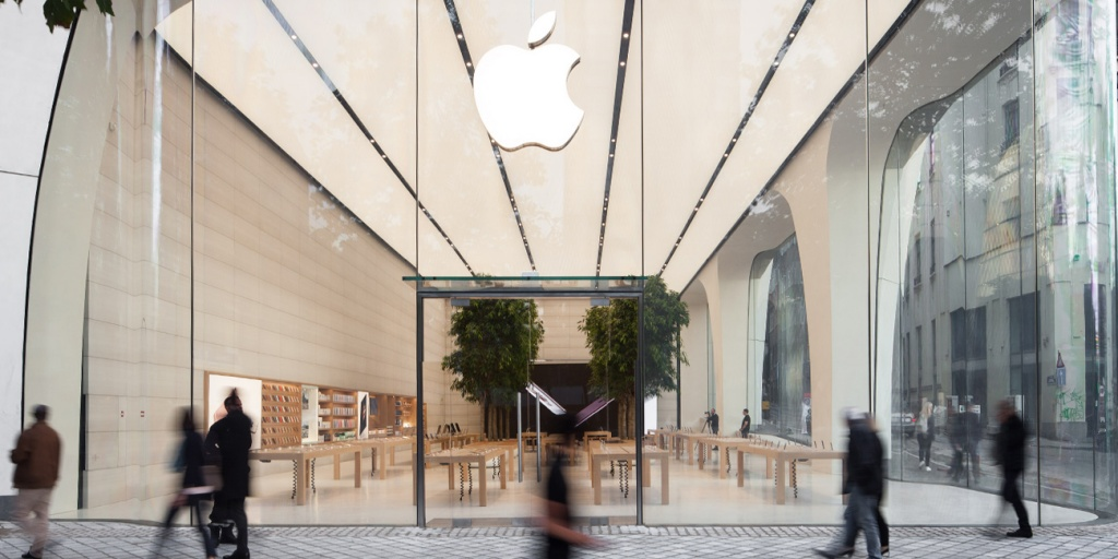 In Belgium Youll Find The New Apple Retail Aesthetic