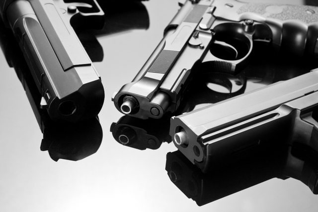 guns (shutterstock nomad_soul)