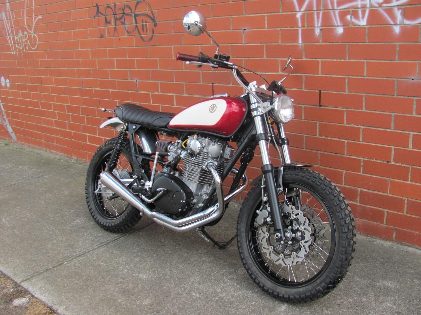 Dry Clutch Thexscafe Racer 2stroke Tz250h Yamaha Motorcycle Carburetor Diagram And Parts Street Scrambler