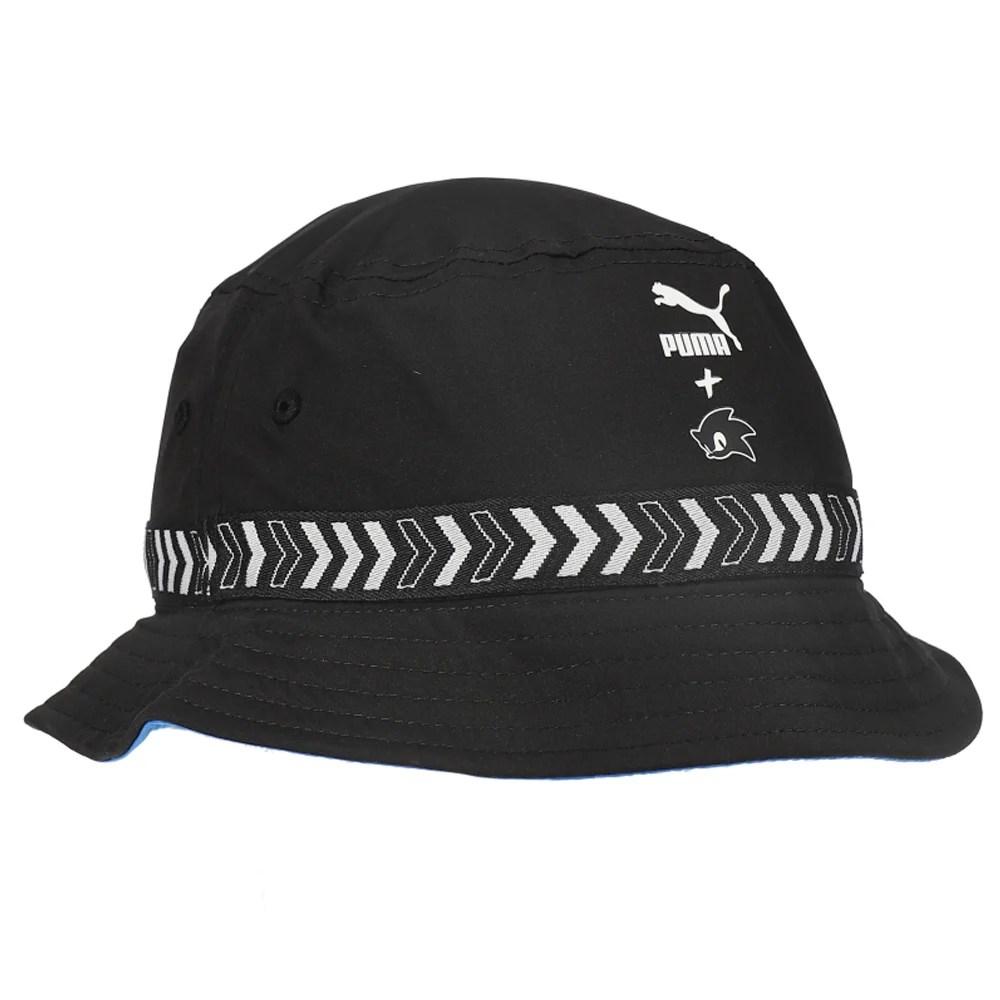 Puma Sonic Bucket Hat Little Kid Big Kid Black Boys Bucket Hats