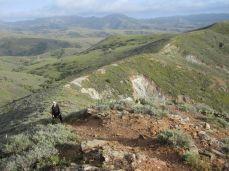 Joan on the Ridgeline Trail-45